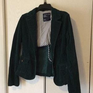Forest green cordorouy jacket